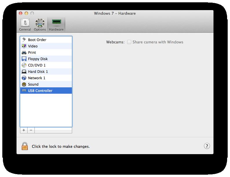 USB Controller Option